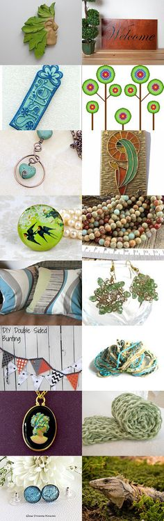 Welcome by Marianne on Etsy--Pinned+with+TreasuryPin.com