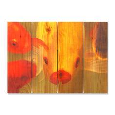Fish Lips 22.5x16 Indoor/ Outdoor Full Color Wall Art