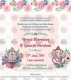 A house is made of bricks & beams. A home is made of hopes & dreams! Kindly join us and Warm our New Home with your Lovely Presence. Gift us your precious blessings! House Warming Ceremony November 12 pm onwards Gifts in the form of blessings only! Invitation Examples, Printable Invitation Templates, Invitation Card Design, Elegant Invitations, Custom Invitations, Invite, Housewarming Invitation Cards, Housewarming Wishes, House Warming Ceremony