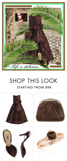 """""""Like Chocolate, Life is Delicious!"""" by jakenpink ❤ liked on Polyvore featuring Judith Leiber, Moschino and LE VIAN"""