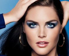 Estee Lauder disco makeup...still love blue eye shadow