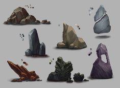 Rocks Stuff by ShadowOfSunshine