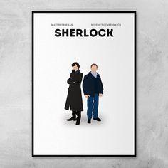 Sherlock  Benedict Cumberbatch  Martin Freeman  Minimal