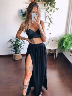how to put outfits together Sommer Tattoo, Summer Outfits, Cute Outfits, Elegantes Outfit, Hot Pants, Look Chic, Fashion Outfits, Womens Fashion, The Dress