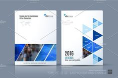 Business vector template. Brochure layout, cover modern design a. Brochure Infographic