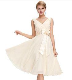 11948d89e46d Grace Karin Bridesmaid Dresses Knee Length Short Formal Party Abendkleider  Chiffon Blue Purple Bridesmaid Gown Robe De Soiree