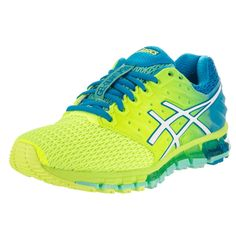 Asics Women's Gel-Quantum 180 2 and Blue Running Shoes