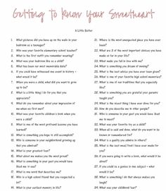 Getting to know your sweetheart better questions - Date Night Questions The Words, Dating Quotes, Dating Advice, Dating Humor, Dating Funny, Healthy Relationships, Relationship Advice, Marriage Advice, Strong Relationship
