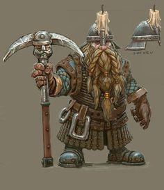 Total war warhammer. Dwarf miner