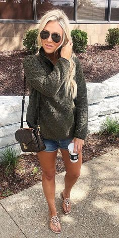 50 Cozy Outfit Ideas You Need - #Beautiful #Girl #Happy #Fashionistas #Perfect I ordered this pullover in EVERY COLOR... itthat good (wearing a size small for reference I also linked my new sunnies I love how classic they are but still oversized! Shop my exact look by following me everyday_abby on the Liketoknowit App OR click on the link in my bio and then click on the pic you want to shop: source