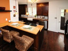 Nicole Curtis Rehab Addict -Colfax kitchen-  #kitchen #interior #design