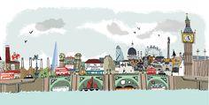 Alex Barrow London Illustrations