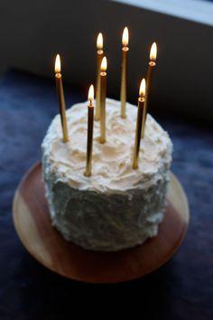 Cake Candelabra W Candles