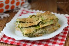 Lo sformato zucchine cotto e provola è un secondo piatto sfizioso e saporito, perfetto per portare in tavola un piatto diverso dal solito!