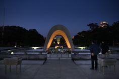 Parco della Pace, Hiroshima. Sento passare un soffio leggero...