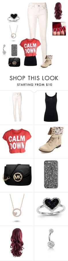 """Tim Hicks Concert"" by harrystylesandliampayne ❤ liked on Polyvore featuring rag & bone/JEAN, Juvia, Pieces, Charlotte Russe, Michael Kors, Amorium, Kevin Jewelers and Bling Jewelry"