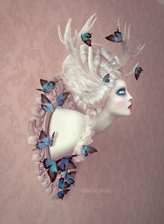 BetweenMirrors.com | Alt Art Gallery: Natalie Shau: Beauty and Power reDefined
