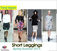 awesome Short Leggings #FashionTrend for Spring Summer 2014 #fashion2014 #spring2014 #trends #leggings... Fashion designers Check more at http://pinfashion.top/pin/70670/