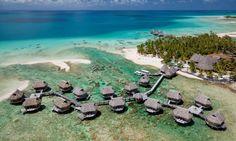 Tikehau Pearl Beach Resort, Aerial View