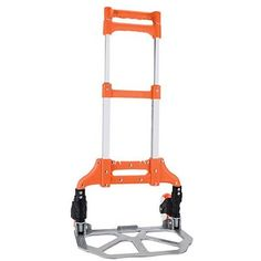 Capacity Aluminum Hand Truck, Folds Down to Just Blue. Why You'll Love It : Built with durable, rust-proof aluminum that lasts. Solid rubber wheels travel well on any hard surface as well as low carpets. Rolling Utility Cart, Hand Cart, Plate Camera, Stair Climbing, Plate Design, Rubber Tires, Big Houses, Home Projects, Household
