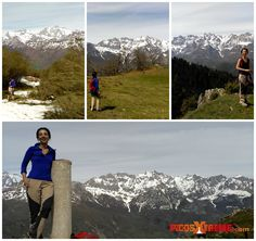 Taking advantage of the great views of Oriental Massiff