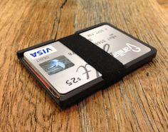 The Machine Era Slim Wallet is sleek, ultra light, and barely noticeable in your pocket.