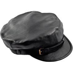 1fd85e48865 Genuine leather Fiddler Maciejowka black cap. Gatsby   Irish   Newsboy  style. Cap with