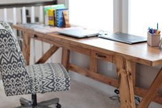 Modified Henry Desk | Do It Yourself Home Projects from Ana White