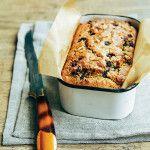 Savory Lemon Rosemary Blueberry Bread Recipe - Clean Eating