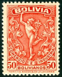 Postage Stamp from Bolivia