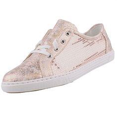 Rieker Damen L0900 Sneakers, Gold (Rose/Lightrose/31), 37 EU