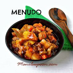 PORK or BEEF MENUDO - the Philippines' favorite stew! Hints of sweet, sour and savory flavors completely make up this delicious stew!