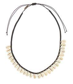 Collier coquillages Isabel Marant bijou plage été http://www.vogue.fr/joaillerie/shopping/diaporama/bijoux-de-plage/21469/carrousel#collier-coquillages-isabel-marant