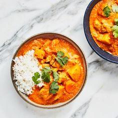 New Chicken Recipes, Recipe Chicken, Comida India, Coconut Chicken, Yogurt Chicken, Chicken Tikka Masala, Asian, Healthy Dinner Recipes, Healthy Meals