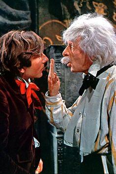 Roman Polanski and Jack MacGowran in The Fearless Vampire Killers / Dance of the Vampires (Roman Polanski, 1967)