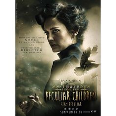 """""""The brilliant @nicola_roversi made this fan art poster for #EvaGreen's upcoming film Miss Peregrine's Home for Peculiar Children!  Mark your calendars:…"""""""