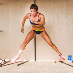 Spice up your gym routine with Olympic skier Julia Mancuso's pre-winter lower-body workout plan!