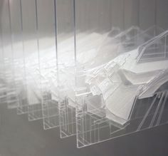 Experiential Model - An experience of time, space and movement. GSD Platform Selection 2011