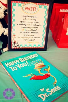 First Birthday Dr Suess Party  Captured Love Photography: Life Sessions