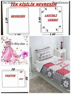 Tek Kişilik nevresim Ölçüleri.... Loom Knitting Patterns, Beading Patterns Free, Afghan Crochet Patterns, Sewing Patterns, Sofa Covers, Duvet Covers, Duvet Cover Tutorial, Sewing Classes For Beginners, Sheet Curtains