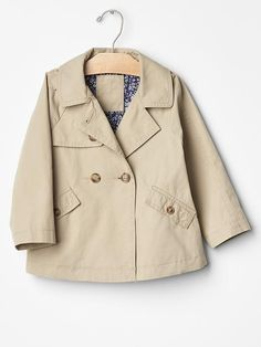 Trench swing coat
