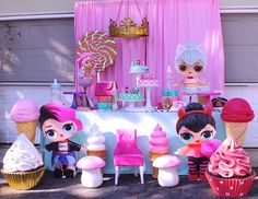 LOL Surprise Doll Birthday Party Ideas   Photo 1 of 17