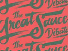 The Great Sauce Debate