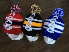 Can be made in your favourite team colours in whatever size you want Hockey Girls, Hockey Mom, Hockey Teams, Hockey Stuff, Hockey Players, Ice Hockey, Hockey Crafts, Hockey Decor, Hockey Socks