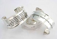 Love these cuff bracelets