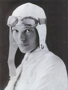 "Amelia Earhart-""Please know that I am aware of the hazards. I want to do it because I want to do it. Women must try to do things as men have tried. When they fail, their failure must be a challenge to others."""