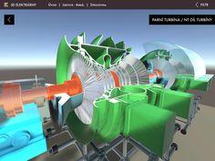 Parní turbína elektrárny Nový zdroj Ledvice bez animace Home Appliances, House Appliances, Domestic Appliances