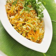 Möhren-Zucchini-Sellerie-Salat | Kochwerte