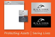 ThinkBAG created the BlackHawk brand, a UK-based company as Blast Engineering & Safety Specialists: Website, Stationery, brochures & Corporate Video. Corporate Id, Corporate Brochure, Hawk Logo, Black Hawk, Slogan, Business Cards, Stationary, Logo Design, Printing