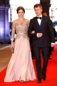 Crown Prince Frederik & Crown Princess Mary of Denmark.